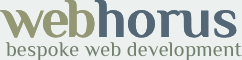 webhorus bespoke web development